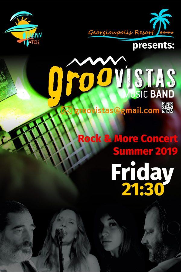 groovistas A4 poster Resort